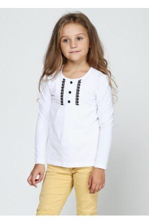 Джемпер «Нора» білого кольору з чорним