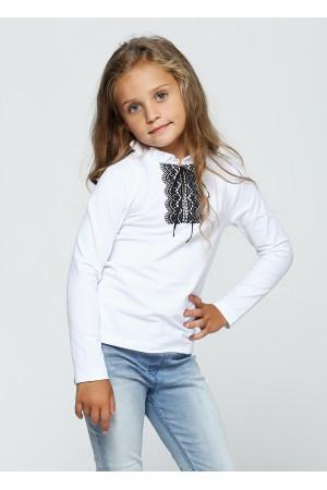 Джемпер «Телезі» білого кольору з чорним