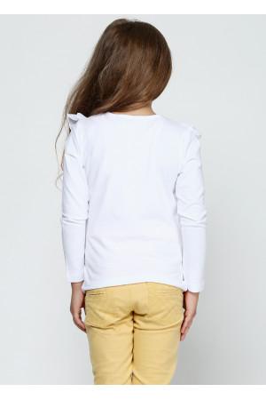 Джемпер «Фанні» білого кольору