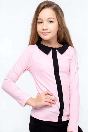 Кофта «Матильда» рожевого кольору з чорним