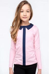 Кофта «Матильда» рожевого кольору з синім