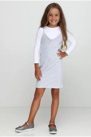 Сарафан «Рита» сірого кольору