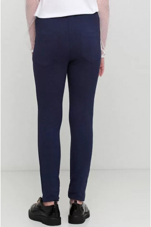 Штани «Лейда» синього кольору
