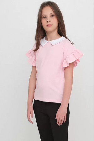 Футболка «Мэлви» розового цвета