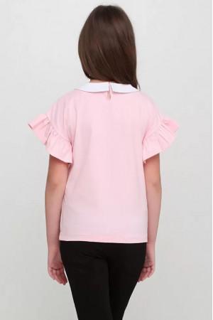 Футболка «Мелві» рожевого кольору