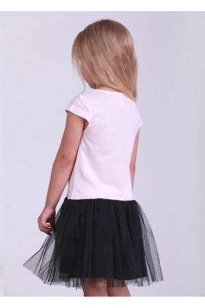 Платье «Звезда» персикового цвета