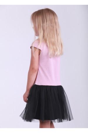 Платье «Звезда» пудрового цвета