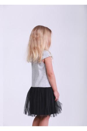 Платье «Звезда» серого цвета