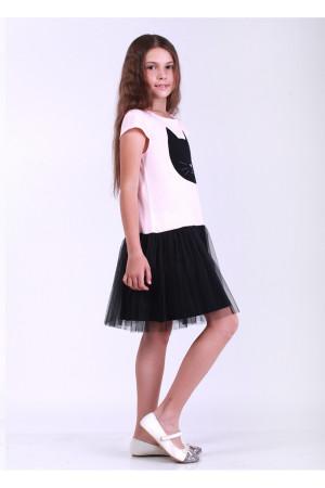 Платье «Блэки» персикового цвета