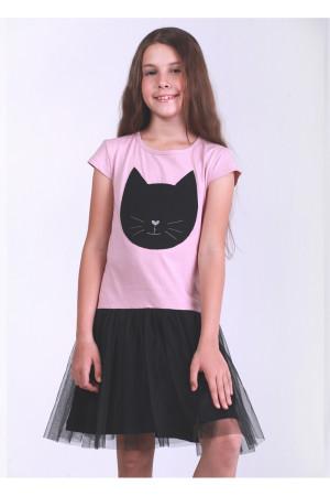 Сукня «Блекі» пудрового кольору
