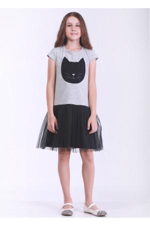 Сукня «Блекі» сірого кольору