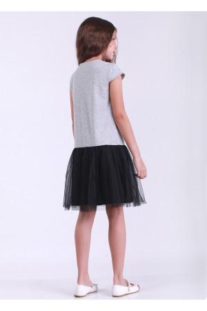 Платье «Блэки» серого цвета