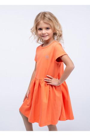 Платье «Яринка» оранжевого цвета