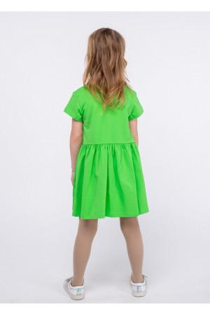 Платье «Яринка» салатового цвета