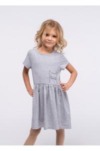 Платье «Поля» серого цвета