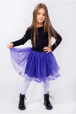 Юбка «Галинка» фиолетового цвета
