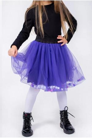 Спідниця «Галинка» фіолетового кольору