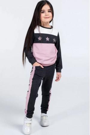 Спортивний костюм «Ліна» кольору антрацит