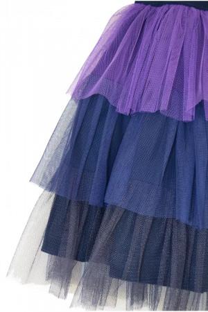 Спідниця «Тутта» синього кольору