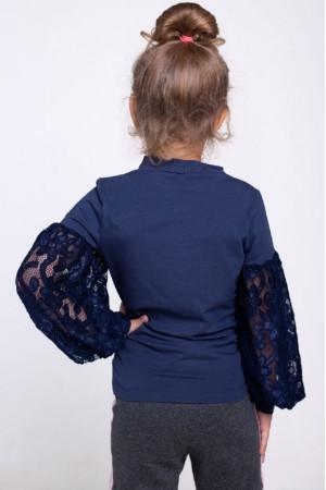 Кофта «Роксана» синего цвета