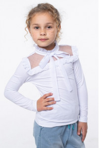 Блуза «Христя» белого цвета