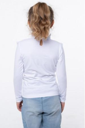 Блузка «Христя» білого кольору