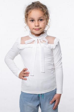 Блуза «Христя» молочного цвета