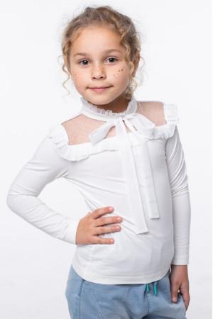 Блузка «Христя» молочного кольору