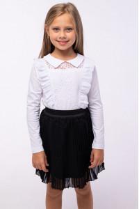 Блузка «Ліама» білого кольору