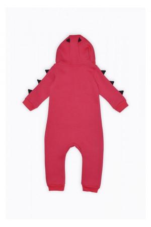 Комбинезон «Динозаврик» красного цвета
