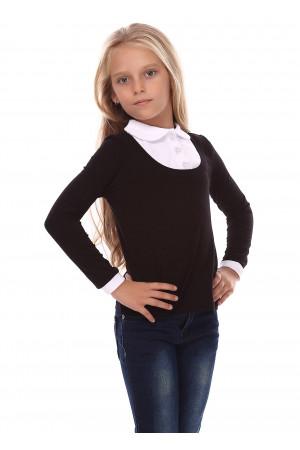 Джемпер «Терин» черного цвета