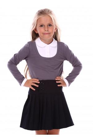 Джемпер «Терин» серого цвета