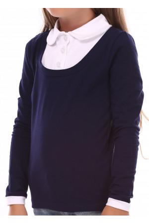 Джемпер «Терін» темно-синього кольору