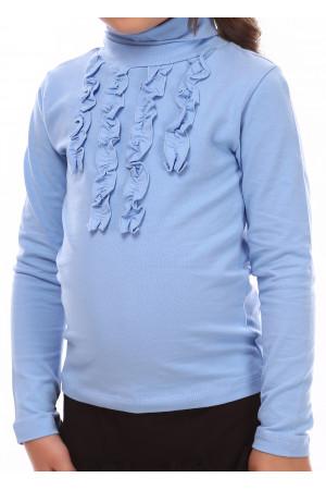 Гольф «Стефани» голубого цвета