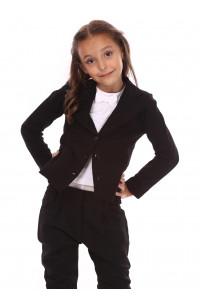Жакет «Нора» черного цвета