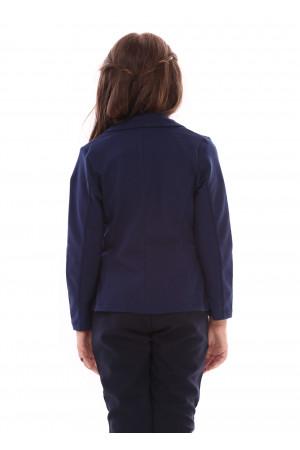 Жакет «Нора» темно-синего цвета
