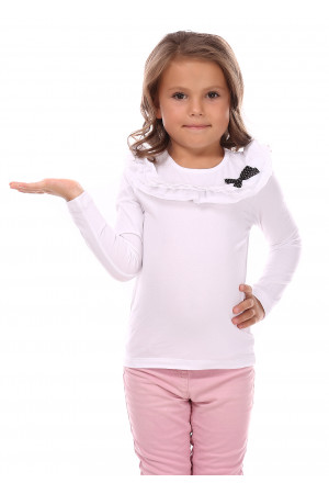 Джемпер «Мерси» белого цвета