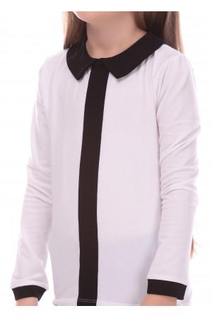 Джемпер «Тантам» белого цвета с черным