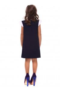 Сарафан «Еліза» темно-синього кольору
