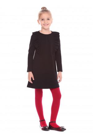 Платье «Гройс» черного цвета