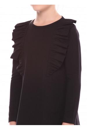 Сукня «Гройс» чорного кольору