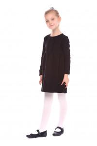 Платье «Канатка» черного цвета