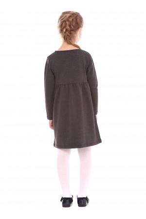 Сукня «Канатка» сірого кольору