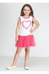 Платье «Дэйси» малинового цвета