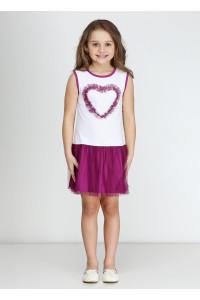 Платье «Дэйси» цвета фуксии