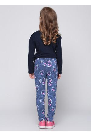Штани «Дінжі» синього кольору