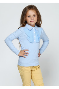 Джемпер «Антоника» голубого цвета