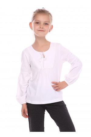 Блузка «Вікторія» білого кольору