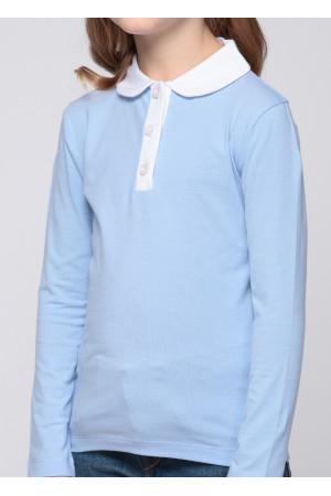 Джемпер «Троя» голубого цвета