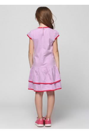 Платье «Фенти» сиреневого цвета